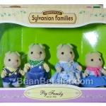 ซิลวาเนียน..ครอบครัวหมู 4 ตัว Sylvanian Families Grunt Pig Family