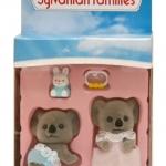 ซิลวาเนียนเบบี้แฝด หมีโคอะล่า นอน-คลาน (UK) Sylvanian Families Billabong Koala Twins