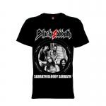 เสื้อยืด วง Black Sabbath แขนสั้น แขนยาว S M L XL XXL [2]