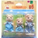 ครอบครัวซิลวาเนียน หมู 3 ตัว (EU) Sylvanian Families Pig Family