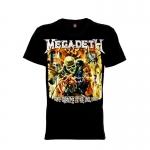 เสื้อยืด วง Megadeth แขนสั้น แขนยาว S M L XL XXL [5]