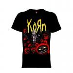 เสื้อยืด วง Korn แขนสั้น แขนยาว S M L XL XXL [1]