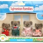 ซิลวาเนียน..ครอบครัวหมีโคอาล่า 4 ตัว (UK) Sylvanian Families Billabong Koala Family