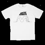 เสื้อยืด วง Arctic Monkeys สีขาว แขนสั้น S M L XL XXL [1]