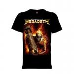 เสื้อยืด วง Megadeth แขนสั้น แขนยาว S M L XL XXL [7]