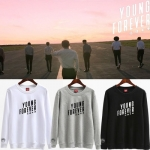 เสื้อแจ็คเก็ตแขนยาวเกาหลี BTS Young Forever มี4สี