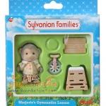 ซิลวาเนียน อุปกรณ์ยิมนาสติกของมาเจอรี่ (UK) Sylvanian Families Marjorie's Gymnastics Lesson