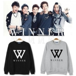 เสื้อแจ็คเก็ตแขนยาวเกาหลี WINNER สกรีนลายอักษร แนวแฟชั่น มี4สี