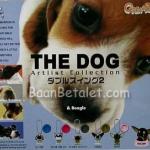 พวงกุญแจโมเดลเดอะด็อกหมาจิ๋ว 5 ชิ้น (The Dog Artlist Collection 2)