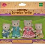 ครอบครัวซิลวาเนียน แมวเปอร์เซีย 4 ตัว (EU) Sylvanian Persian Cat Family