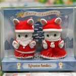 เบบี้กระต่ายซิลวาเนียนใส่ชุดซานต้า (JP) Sylvanian Families Merry Christmas