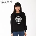 เสื้อแจ็คเก็ตแขนยาวเกาหลี VIXX แต่งโลโก้ด้านหน้า มี4สี