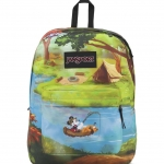 JanSport กระเป๋าเป้ รุ่น High Stakes - Disney Forest Camp