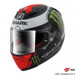 SHARK RACE-R PRO Replica_Lorenzo_Monster_2017 / Black red white/KRW
