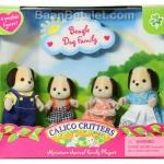 ครอบครัวซิลวาเนียน หมาบีเกิล 4 ตัว (US) Calico Critters Beagle Dog Family