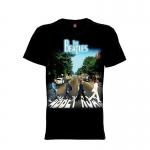 เสื้อยืด วง The Beatles แขนสั้น แขนยาว S M L XL XXL [6]