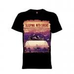 เสื้อยืด วง Sleeping With Sirens แขนสั้น แขนยาว S M L XL XXL [2]