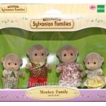 ครอบครัวซิลวาเนียน ลิง 4 ตัว Sylvanian Families Monkey Family