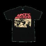 เสื้อยืด วง Arctic Monkeys แขนสั้น งาน Vintage ลายไม่ชัด ทุกขนาด S-XXL [Easyriders]