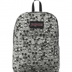 JanSport กระเป๋าเป้ รุ่น Superbreak - Disney Grey Rabbit Mickey Sketch