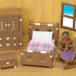 ซิลวาเนียน เฟอร์นิเจอร์ห้องนอน (UK) Sylvanian Families Bedroom Furniture Set