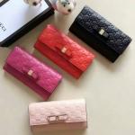 กระเป๋าสตางค์ GUCCI Bow 4 สี เลือกด้านใน Gucci Signature continental wallet