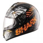 SHARK S600 PINLOCK POONKY Black orange antraci