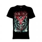 เสื้อยืด วง As Blood Runs Black แขนสั้น แขนยาว S M L XL XXL [3]