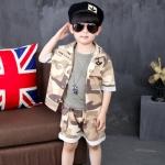 ชุดทหารเด็กครบเซท สีตามรูป กัปตันยูซีจิน Descendants Of The Sun