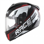 SHARK RACE-R PRO SAUER Black Anthracite Red