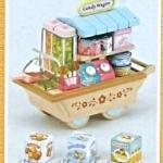 [หมดค่ะ] ซิลวาเนียน รถเข็นขายขนม (Sylvanian Families Candy Wagon) V5%