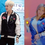 เสื้อแจ็คเก็ตแขนยาวเกาหลี GOT7 แต่งพิมพ์ลายรอบตัว เท่มาก มี2สี