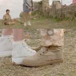 รองเท้าผ้าใบแพลตฟอร์มสูง สไตล์หมอคังโมยอน ซองเฮเคียวจากซีรี่ย์ Descendants of the Sun