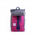 Hellolulu กระเป๋าเด็ก รุ่น MINI SUTTON - DARK GRAY/PINK