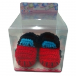 รองเท้าเด็กอ่อน ไหมพรม FD37-1