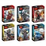 ตัวต่อ Decool-0217-0222 เซ็ท SuperHeroes Avengers Age of ultron 6 กล่อง