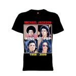 เสื้อยืด วง Michael Jackson แขนสั้น แขนยาว S M L XL XXL [3]