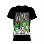 เสื้อยืด วง Korn แขนสั้น แขนยาว S M L XL XXL [2]