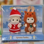เบบี้แกะซิลวาเนียนใส่ชุดคริสต์มาสแฟนซี (JP) Sylvanian Families Sheep Baby Merry Christmas