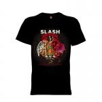 เสื้อยืด วง Slash แขนสั้น แขนยาว S M L XL XXL [3]