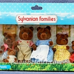 ครอบครัวซิลวาเนียนทิมเบอร์ทอป-หมีสีน้ำตาล 7 ตัว (UK) Sylvanian Families Timbertop Brown Bear Family