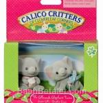 ซิลวาเนียน เบบี้แฝดช้าง คลาน-นั่ง Calico Critters Ellwoods Elephant Twins