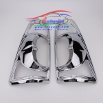 ครอบไฟท้าย อีซูซุ ดีแม็ก ISUZU D-MAX ปี 2007-2011 Gold Series Platinum Super Titanium ชุบโครเมียม