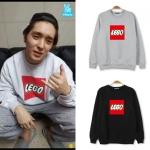 เสื้อแจ็คเก็ตแขนยาวเกาหลี FTISLAND พิมพ์ลายด้านหน้า LEGO <มี4สี>