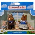 ครอบครัวซิลวาเนียน หมูป่า 5 ตัว (UK) Sylvanian Families Truffle Wild Boar Family