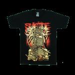 เสื้อยืด วง Suicide Silence แขนสั้น สกรีนเฉพาะด้านหน้า สั่งได้ทุกขนาด S-XXL [NTS]