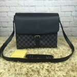 Louis vuitton Newport Messenger Damier Graphite Cobalt PM/MM มี2