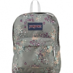 JanSport รุ่น Superbreak - Shady Grey Sprinkled Floral