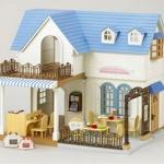 [หมดค่ะ] บ้านตุ๊กตาซิลวาเนียน2008 (Sylvanian Families Fancy Restaurant House with furniture) V5%