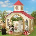 ซิลวาเนียน โบสถ์แต่งงานและบาทหลวง (UK) Sylvanian Families Wedding Chapel with Vicar